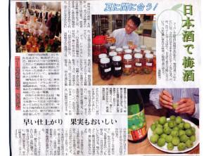 日本酒梅酒記事